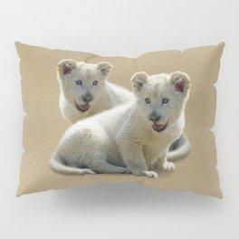 Lion cubs Pillow Sham
