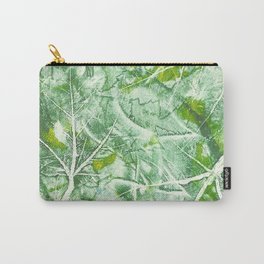 Maple Monoprint Carry-All Pouch