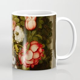 "Osias Beert ""Vase of flowers in a stone niche"" Coffee Mug"