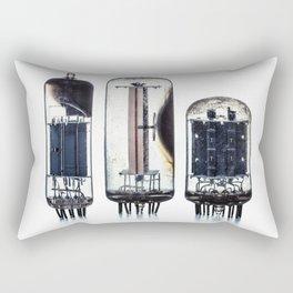 Vintage  Vacuum Tubes Rectangular Pillow