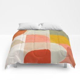 Shapes abstract II Comforters