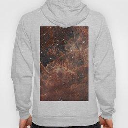 Orange Burst Nebula Hoody