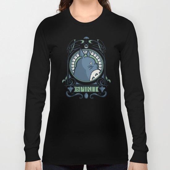 Forest Spirit Nouveau Long Sleeve T-shirt