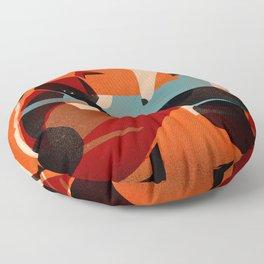 GREYHOUND PAIR Floor Pillow