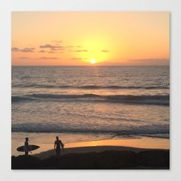 The Last Surf Canvas Print