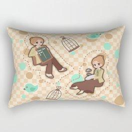 Bioshock Infinite - Luctece Twins Rectangular Pillow