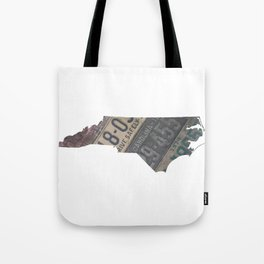 Vintage North Carolina Tote Bag