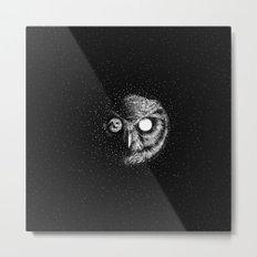 Moon Blinked Metal Print