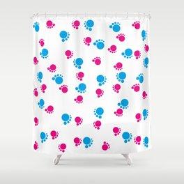 Baby Footsteps background #society6 #decor #buyart #artprint Shower Curtain