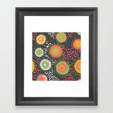abstract organic texture Framed Art Print