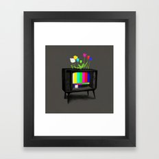 Test Garden Framed Art Print