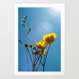 {build me up buttercup} Art Print