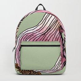 Painting of Garlics Backpack