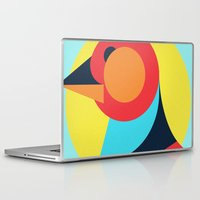 pagan Laptop & iPad Skins featuring Pagan animals - Bird by Atelier FP7