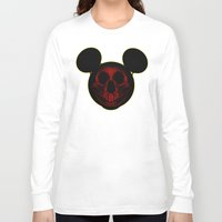 mickey Long Sleeve T-shirts featuring Mickey by nicebleed