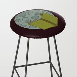 Flowers and the Moon Bar Stool
