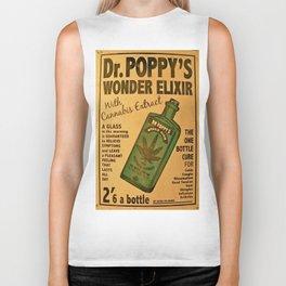 Vintage poster - Dr. Poppy's Wonder Elixir Biker Tank