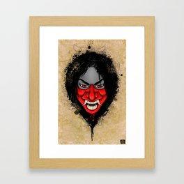 Hannya Girl! Framed Art Print