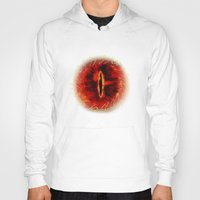 daenerys targaryen Hoodies featuring Sauron The Dark Lord by neutrone