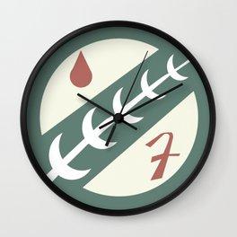 Mandalorian Crest Wall Clock