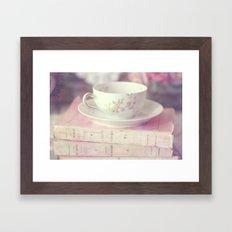 French Teacup Framed Art Print