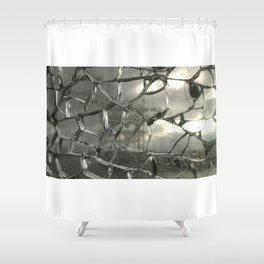 Storm Glass Shower Curtain