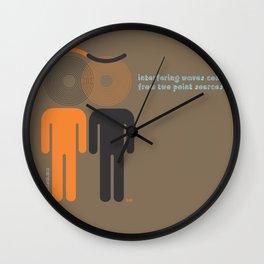 w.eye.ves Wall Clock