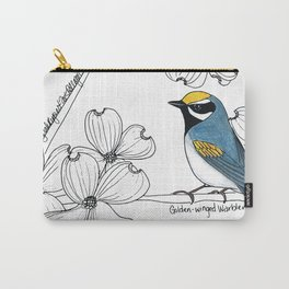 Golden-winged Warbler Carry-All Pouch