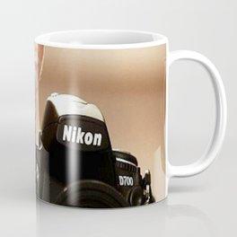 crazy cat Coffee Mug
