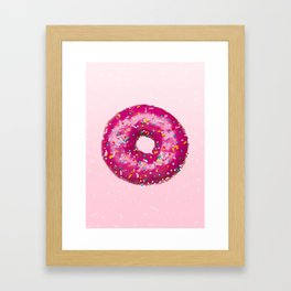 Giant Donut Delight Framed Art Print