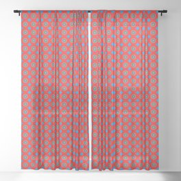 Vitality Pattern Sheer Curtain