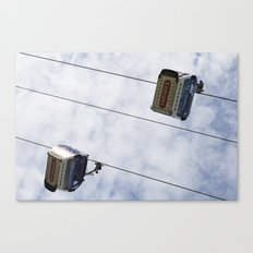 Emirates Cable Car London Canvas Print
