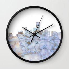 Jersey City Skyline Wall Clock