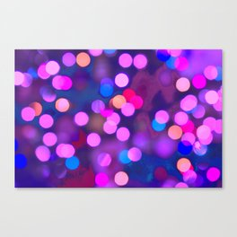 Out of focus Canvas Print