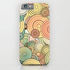 Layered circles Slim Case iPhone 6