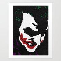 The Smile Art Print