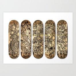Density Decks Art Print