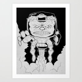 Mental Organism Designed Only for Killing Art Print