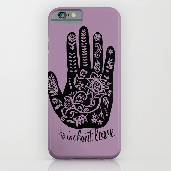 Life and Love iPhone & iPod Case