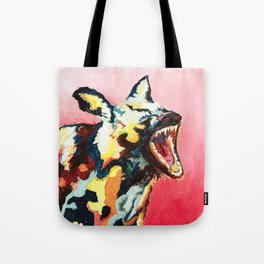 Laughing Hyena Tote Bag