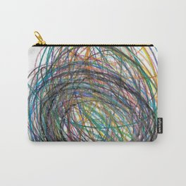 Whirlwind Colored Pencils Carry-All Pouch