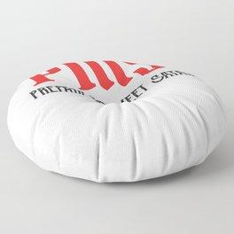 PMS - Prepare To Meet Satan Funny Period Gift Floor Pillow