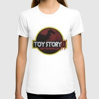 toy story T-shirts featuring toy story / jurassic park by tshirtsz