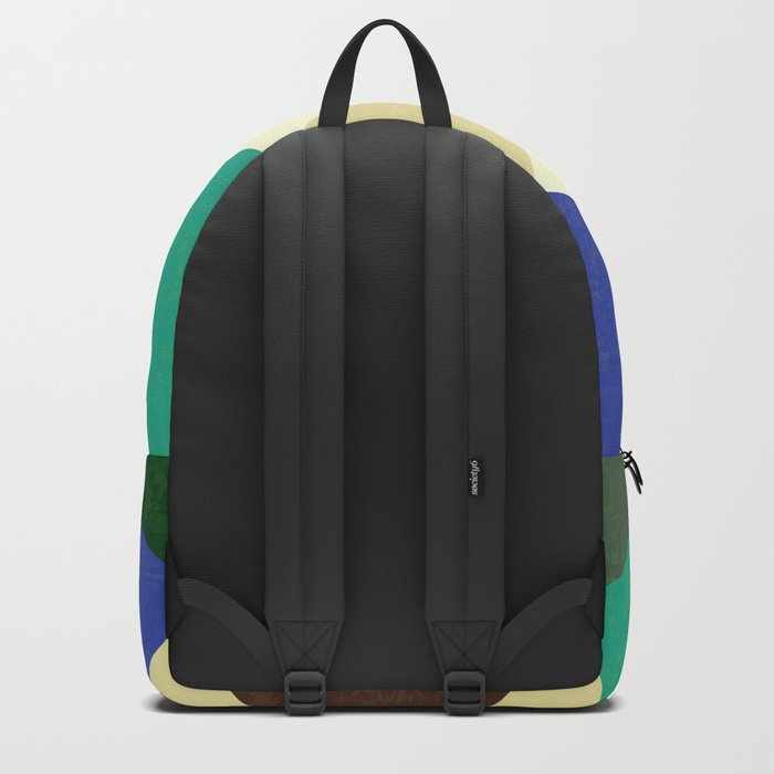 Geometric - Abstract - Triangles - V1 Backpack