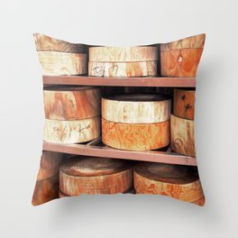 On the Chopping Block  Throw Pillow