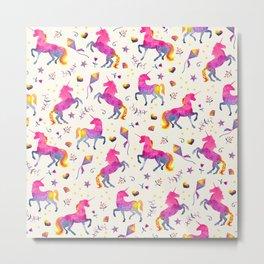 Unicorn Jubilee Metal Print