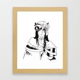 Ama'drien Amaro Framed Art Print