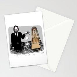 John Wick meets La Llorona Stationery Cards