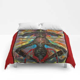 The Hanging Woman Comforters