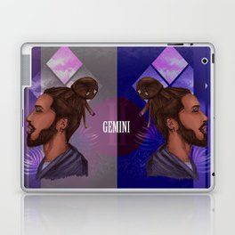 Gemini Zodiac Sign Laptop & iPad Skin